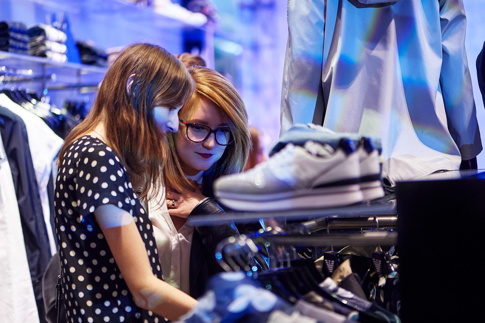 В Киеве открылся новый магазин Emporio Armani