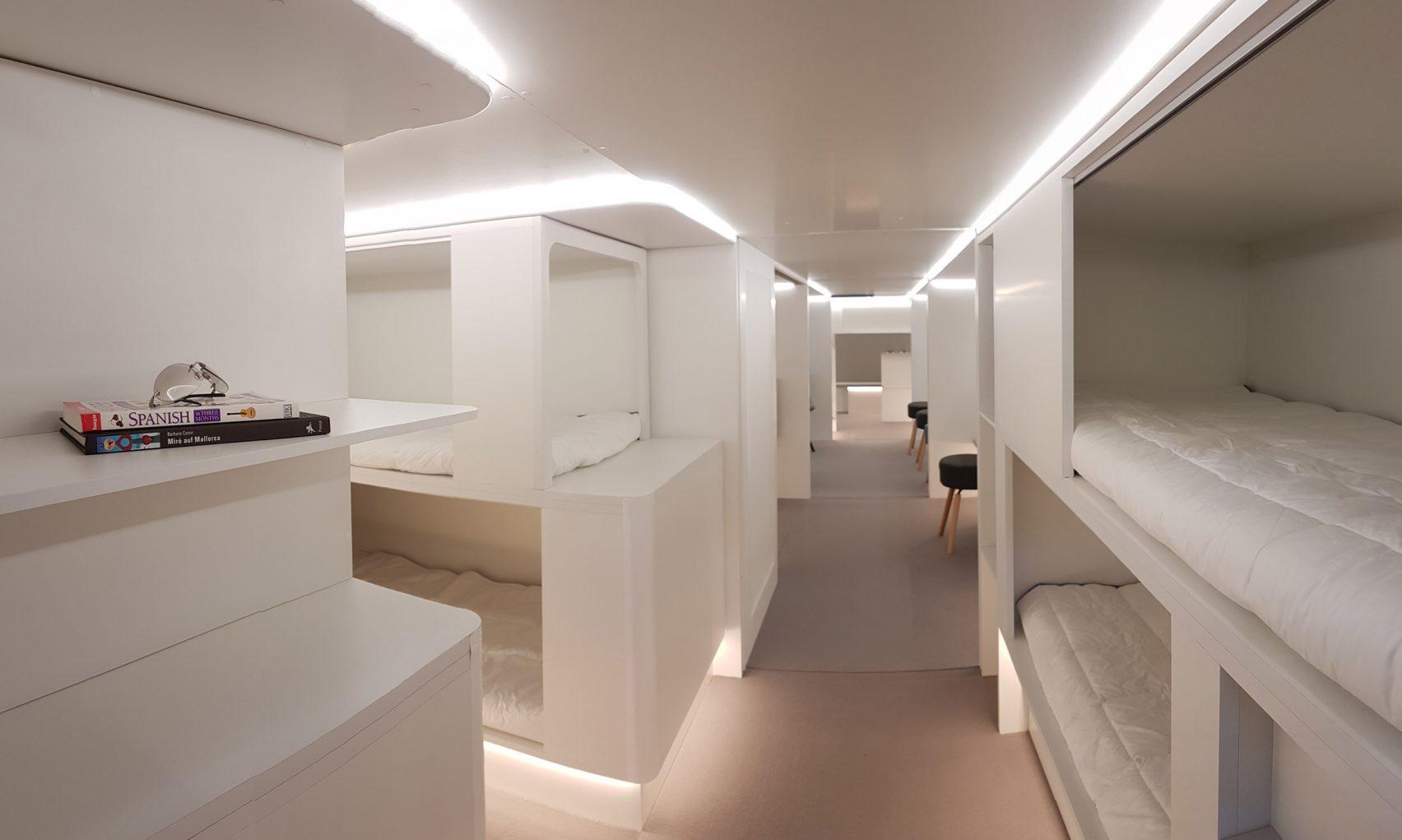 Двухъярусные кровати в самолете: бред или будущее?