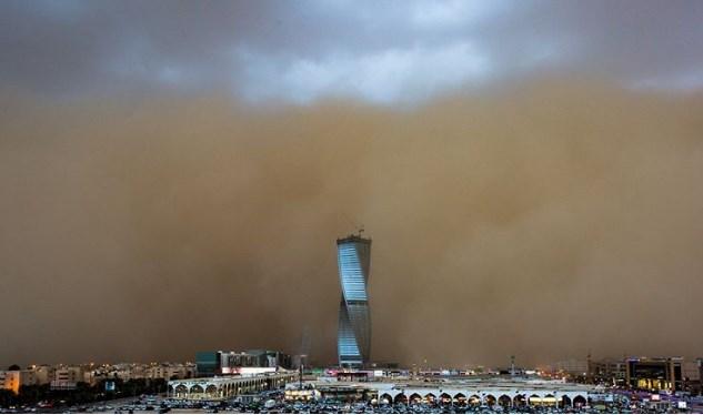 Песчаный апокалипсис в Саудовской Аравии
