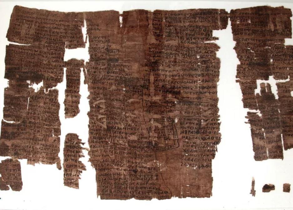 1500-летний папирус из Древнего Египта оказался изложением библейских легенд
