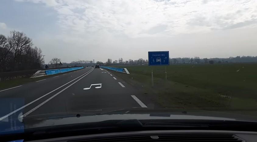 В Нидерландах построили дорогу, исполняющую гимн