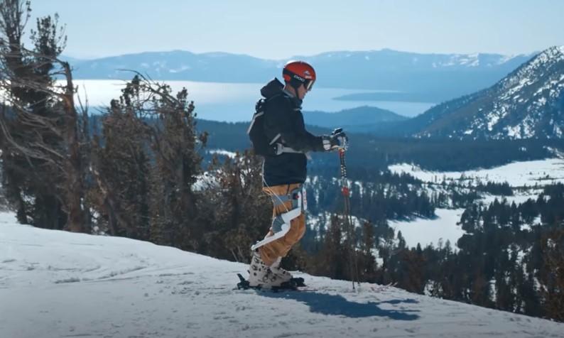 Американцы создали экзоскелет для лыжников
