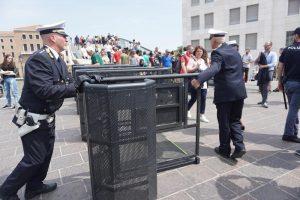 В Венеции установили ворота для ограничения потока туристов