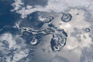 Как выглядят Галапагосские острова из космоса