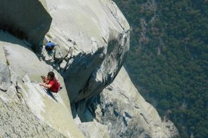 Рекордсмены показали, как забрались на гору
