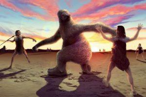 Гигантских ленивцев истребили люди
