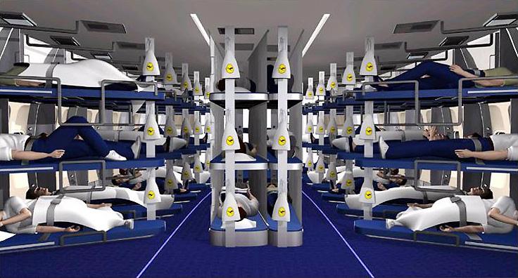 Двухъярусные кровати в самолете: бред или будущее? Двухъярусные кровати в самолете: бред или будущее? lh sleeper class