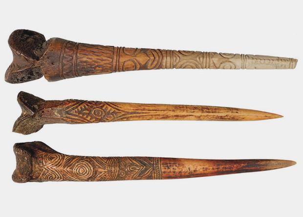 Папуасы делали кинжалы из человеческих костей ради престижа