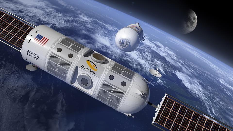 Космический отель примет туристов уже в 2022 году