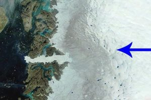 В Гренландии море может выйти из берегов из-за сажи