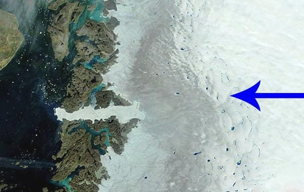 В Гренландии море может выйти из берегов из-за сажи.Вокруг Света. Украина