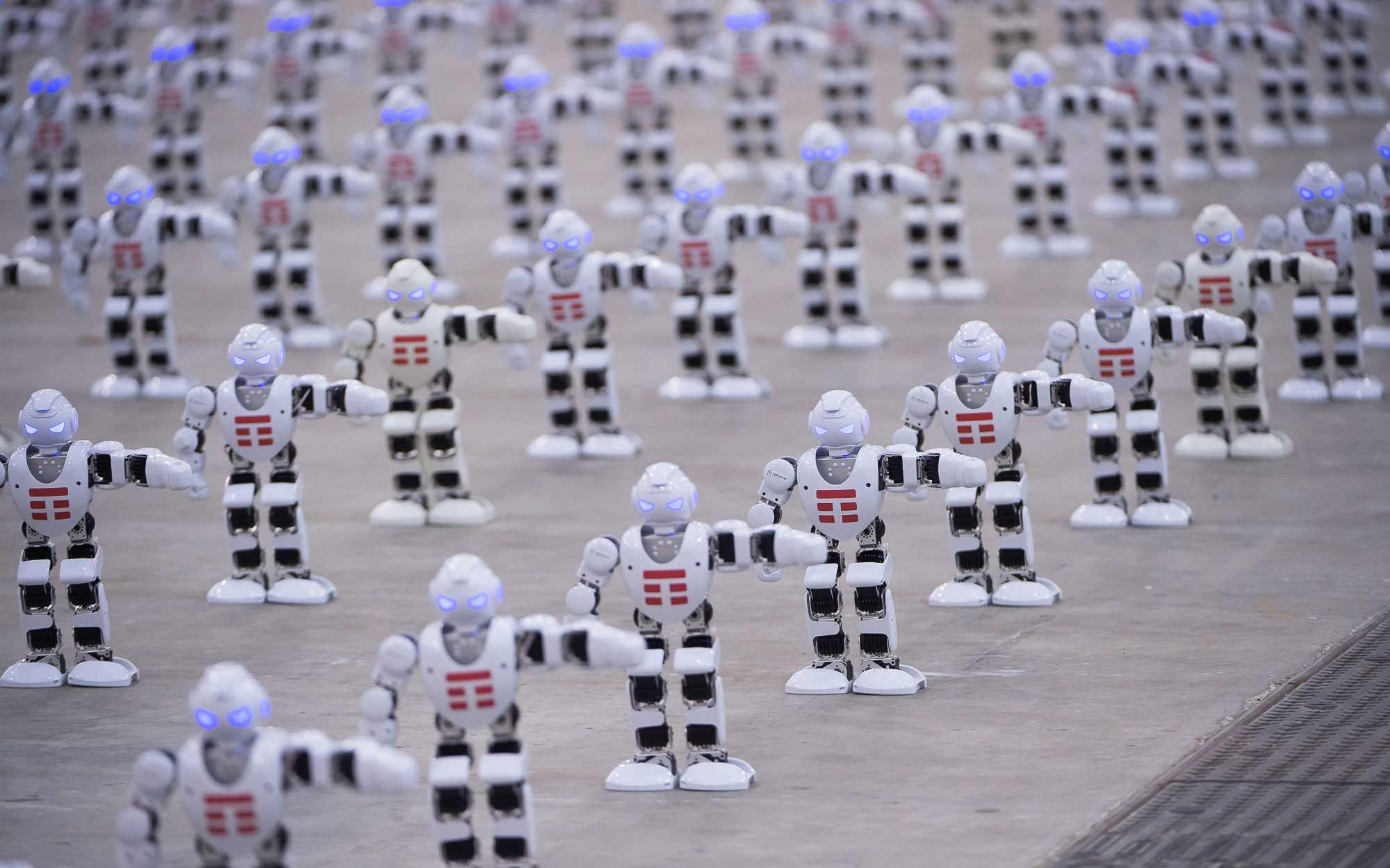 В Италии танцующие роботы установили новый мировой рекорд