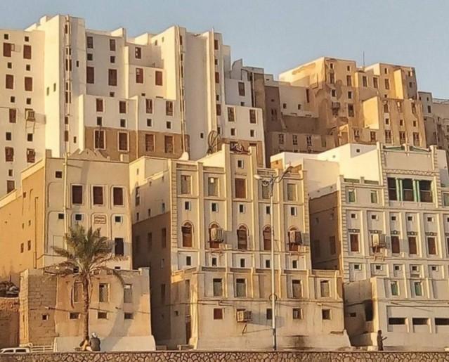 Шибам — город глиняных небоскрёбов
