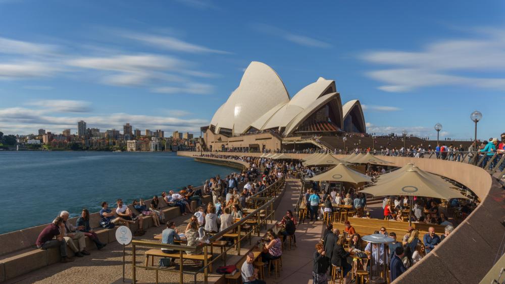 К Сиднейской Опере запретили приближаться на велосипедах