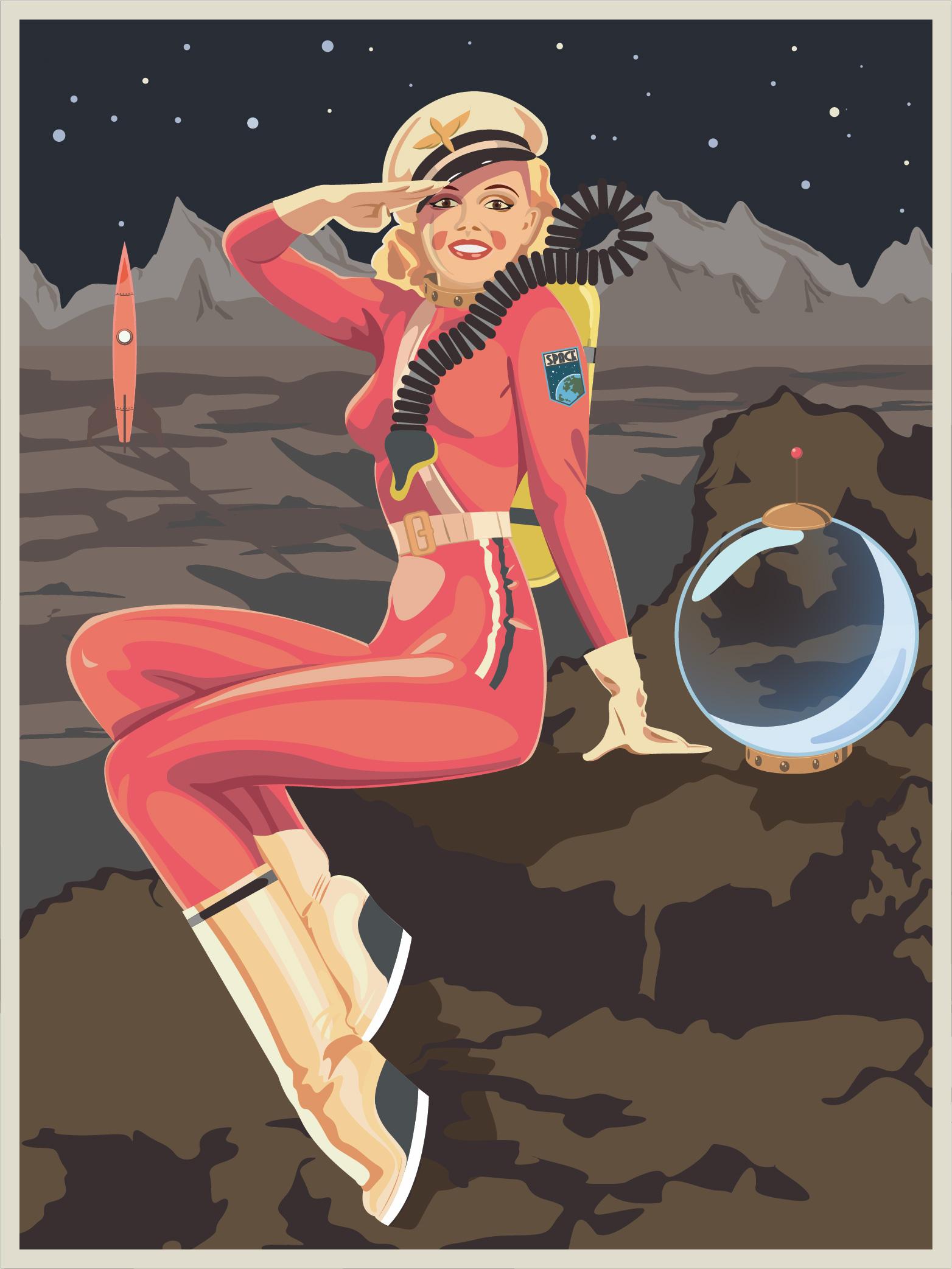 «Женщина должна высадиться на Марс первой»: инженер nasa «Женщина должна высадиться на Марс первой»: инженер NASA shutterstock 1067617439