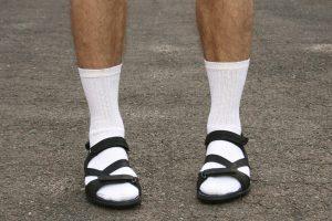 Носки с сандалиями: табу снято