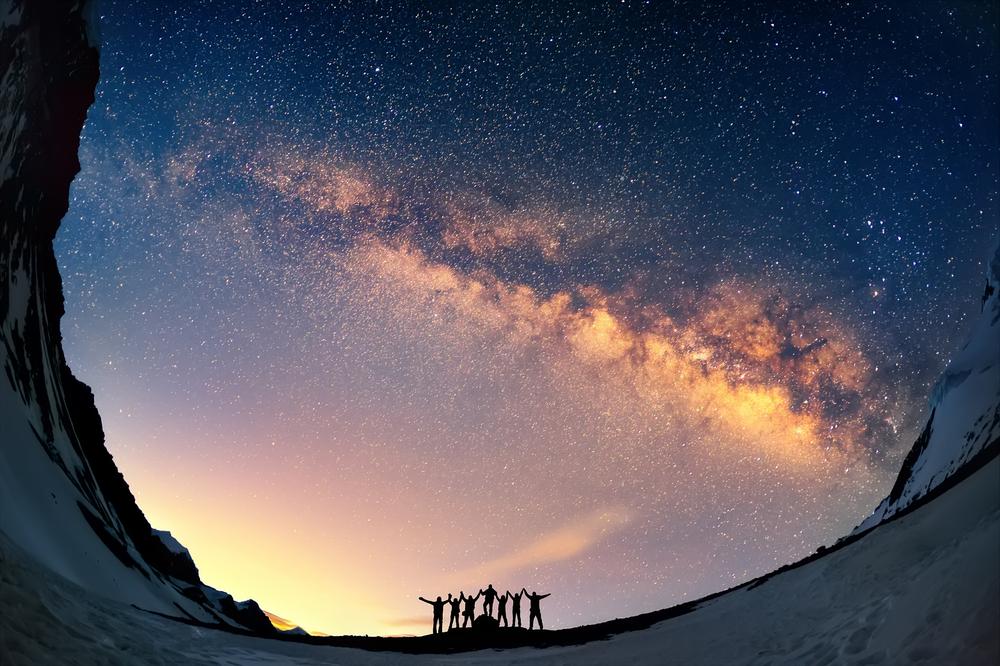 Наша Галактика расширяется каждую секунду.Вокруг Света. Украина