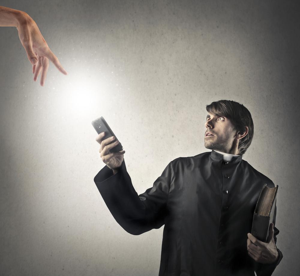Священники начали проводить обряды экзорцизма по телефону