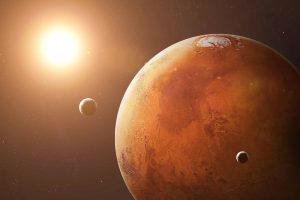 Луны Марса образовались благодаря астероиду