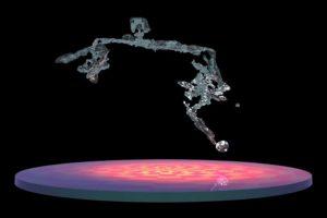 NASA показало, как тает снежинка