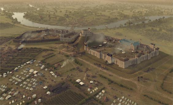 Историки показали, как выглядел первый Виндзорский замок Историки показали, как выглядел первый Виндзорский замок windsor castle 0