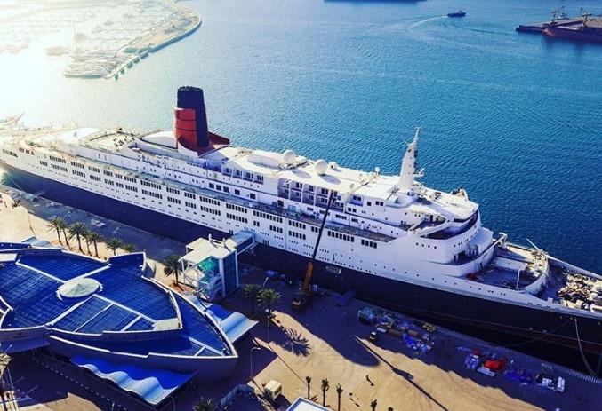 В Дубае открылся отель в лайнере прошлого века.Вокруг Света. Украина