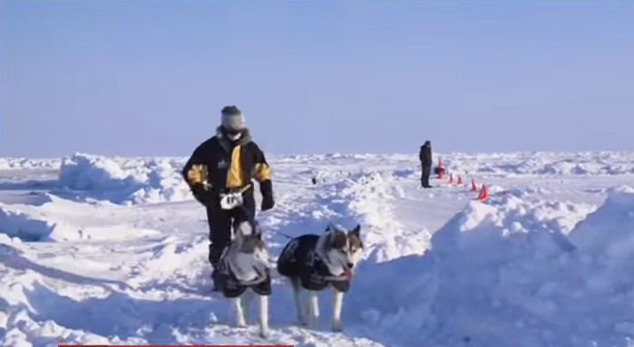 В Арктике состоялся самый холодный забег в мире