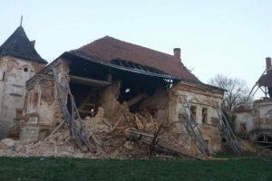 На Львовщине обвалилась стена старинного замка