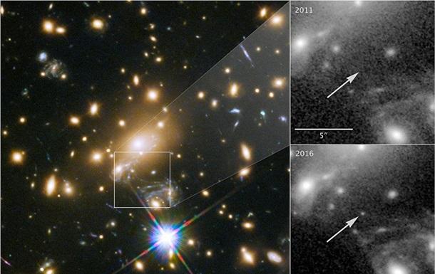 Телескоп Hubble сделал фото самой далекой звезды Вселенной.Вокруг Света. Украина