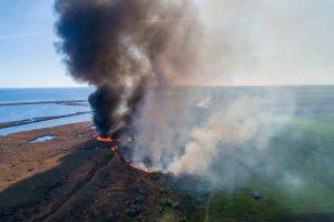 На Херсонщине вспыхнул пожар из-за сухостоя