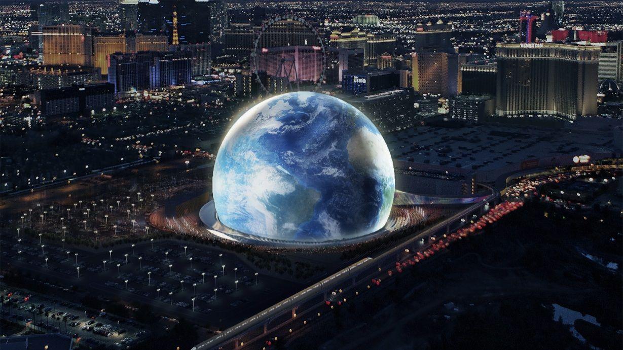 В Лас-Вегасе построят гигантскую сферу-кинотеатр