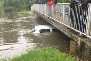 Британский Бирмингем ушел под воду
