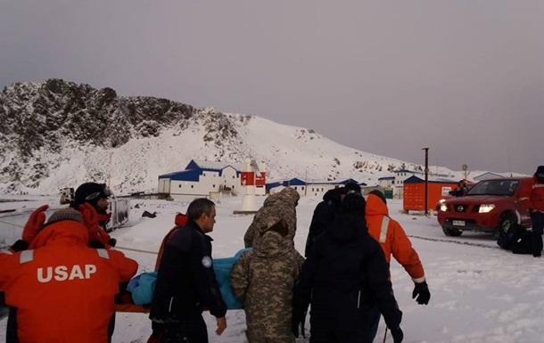 Украинского полярника эвакуировали из Антарктиды
