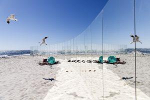 В Австралии отдыхающих окружили зеркалами