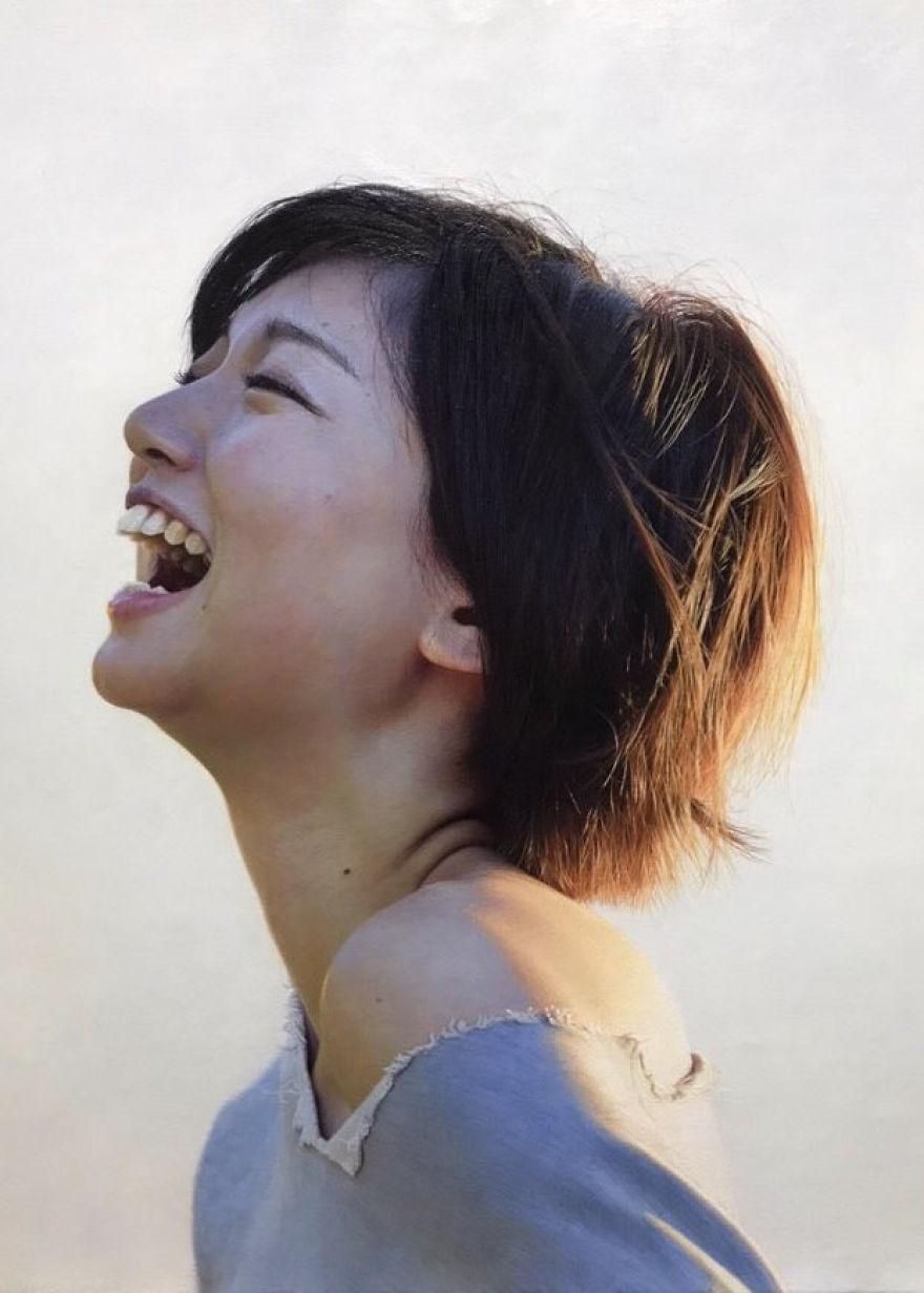 Японская художница создает картины-фотографии 2 8