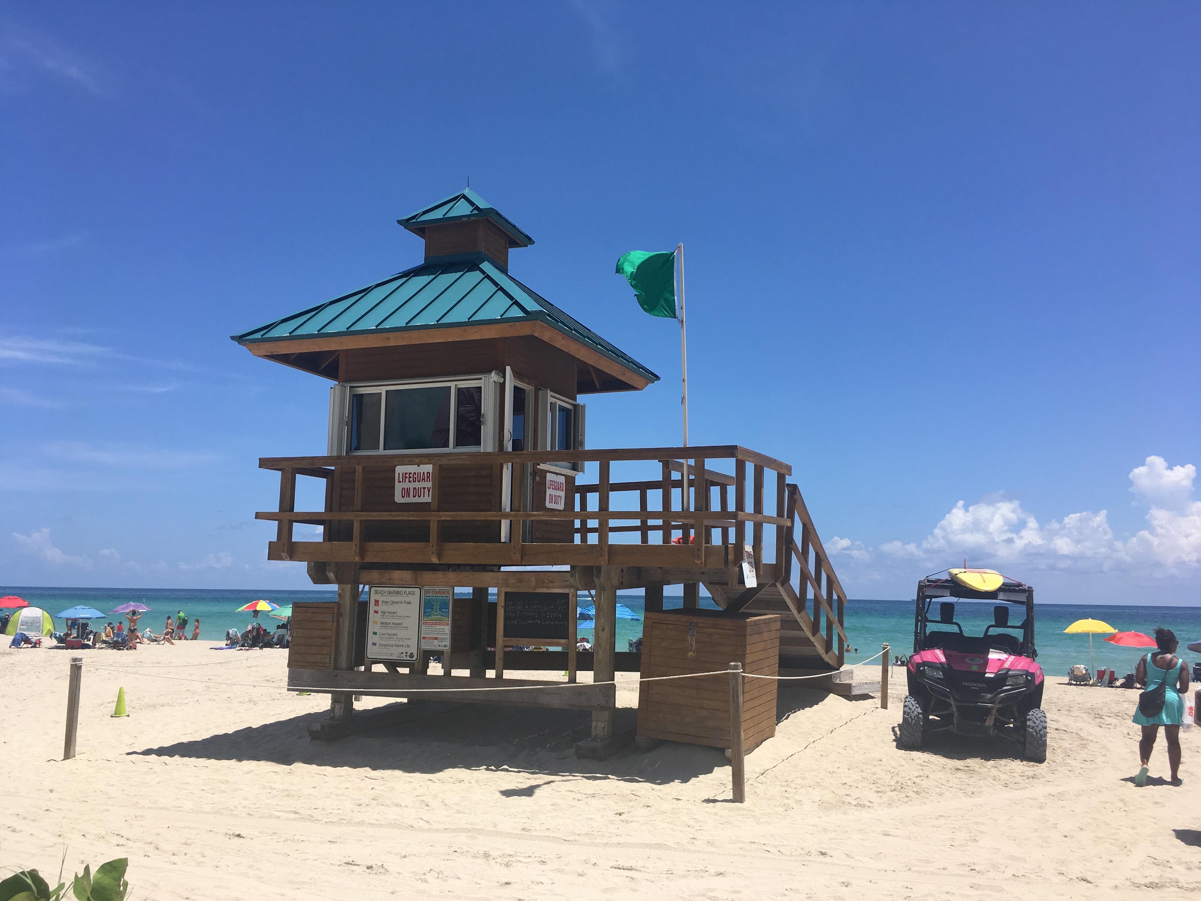 Флаги на пляже: зачем нужны и что означают