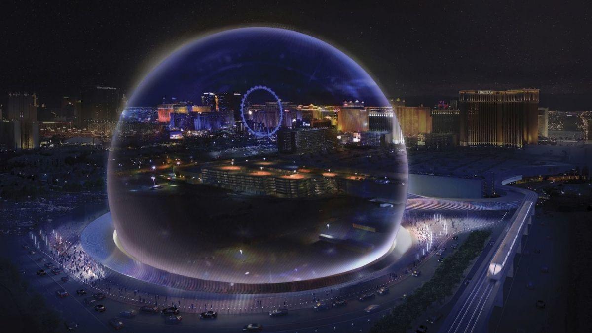 В Лас-Вегасе построят гигантскую сферу-кинотеатр В Лас-Вегасе построят гигантскую сферу-кинотеатр 3 10