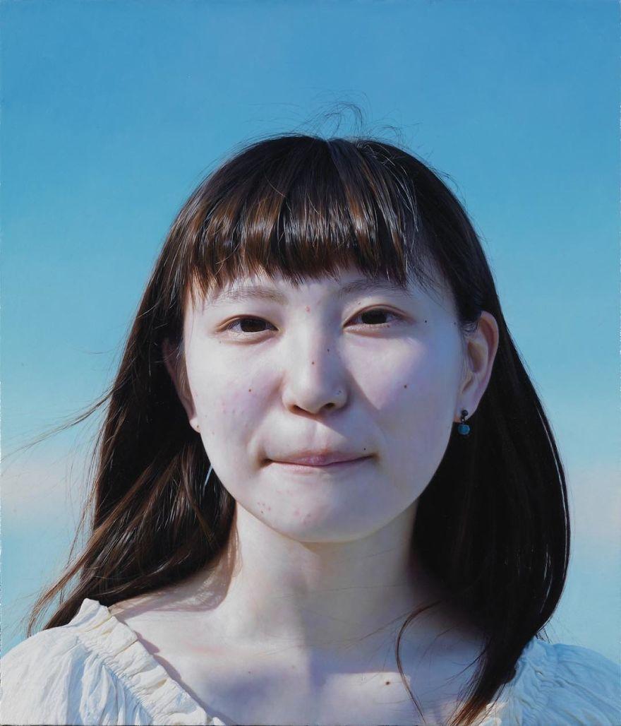Японская художница создает картины-фотографии 3 9