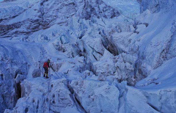 Украинская экспедиция на Эверест и Лхоцзе: ледопад Кхумбу и дальше вверх Украинская экспедиция на Эверест и Лхоцзе: ледопад Кхумбу и дальше вверх 32 614x395