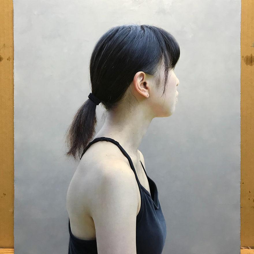Японская художница создает картины-фотографии 4 6