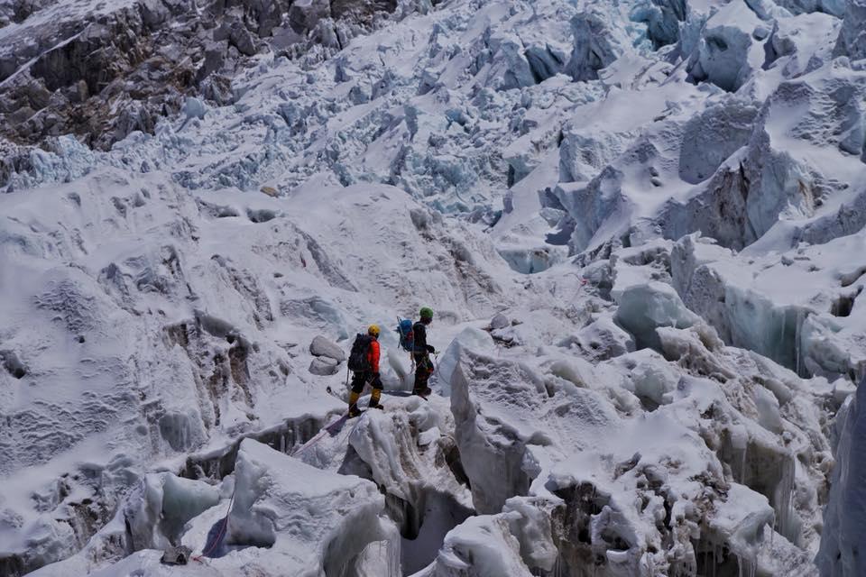 Украинская экспедиция на Эверест и Лхоцзе: ледопад Кхумбу и дальше вверх Украинская экспедиция на Эверест и Лхоцзе: ледопад Кхумбу и дальше вверх 40