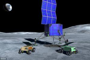 NASA собирается делать ракетное топливо на Луне