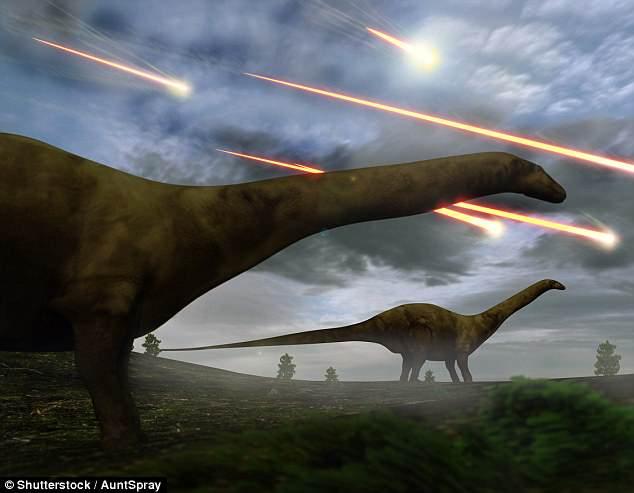 Глобальное потепление 65 млн лет назад вызвано падением астероида