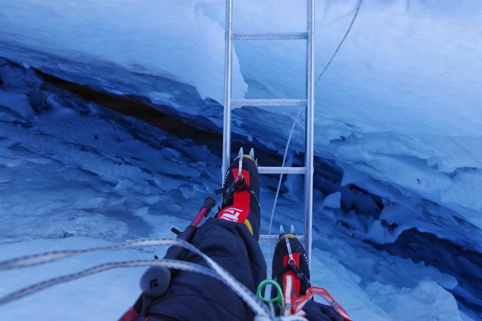 Украинская экспедиция на Эверест и Лхоцзе: ледопад Кхумбу и дальше вверх