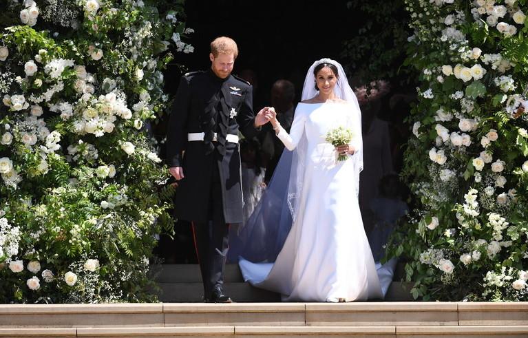 Цветы с королевской свадьбы отдали хоспису