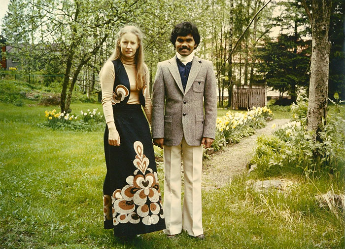 Мужчина приехал на велосипеде из Индии в Швецию ради встречи с любимой. Они вместе более 40 лет 5b06d01fae4ff  700