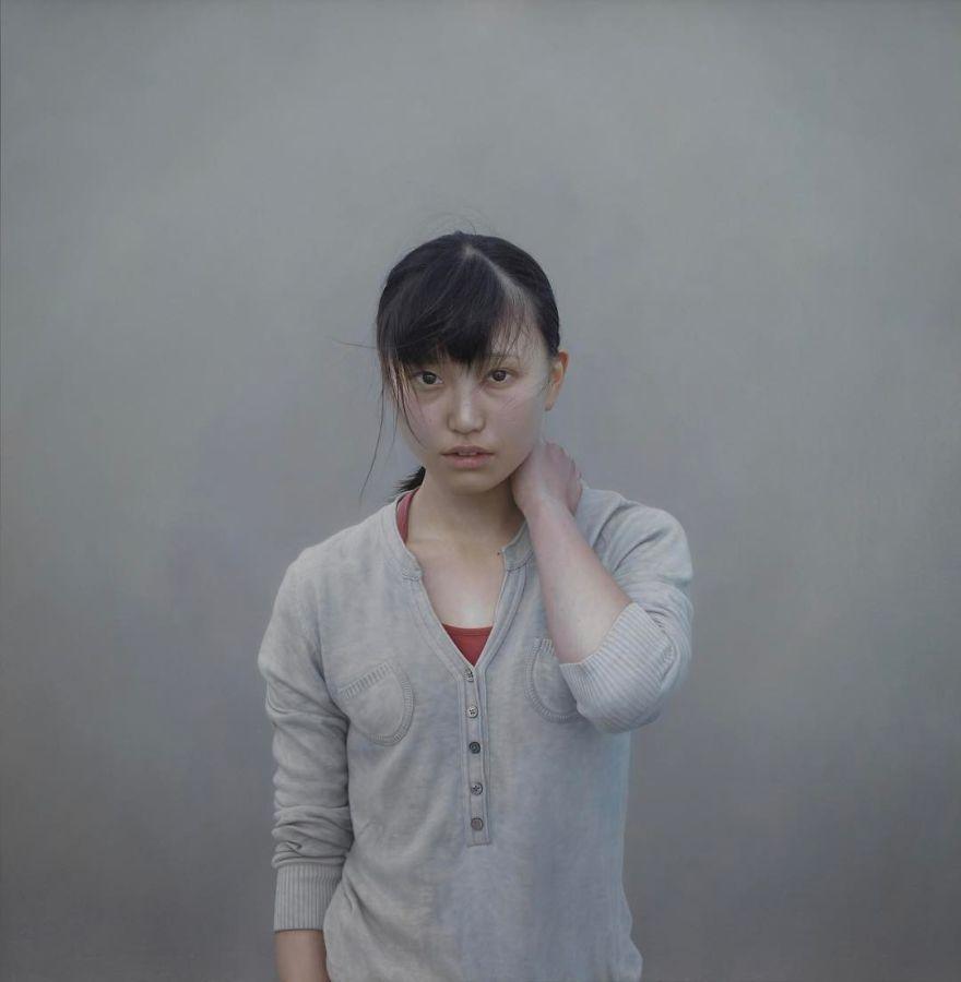 Японская художница создает картины-фотографии 6 3