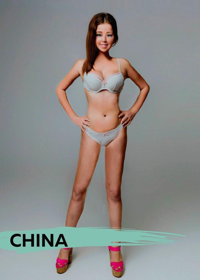 Медики сравнили стандарты красоты 18 стран мира Медики сравнили стандарты красоты 18 стран мира 7 1