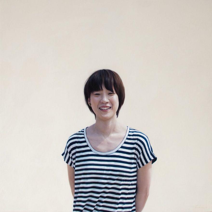 Японская художница создает картины-фотографии 7 4