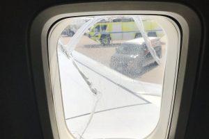 В США самолет совершил экстренную посадку из-за разбитого окна